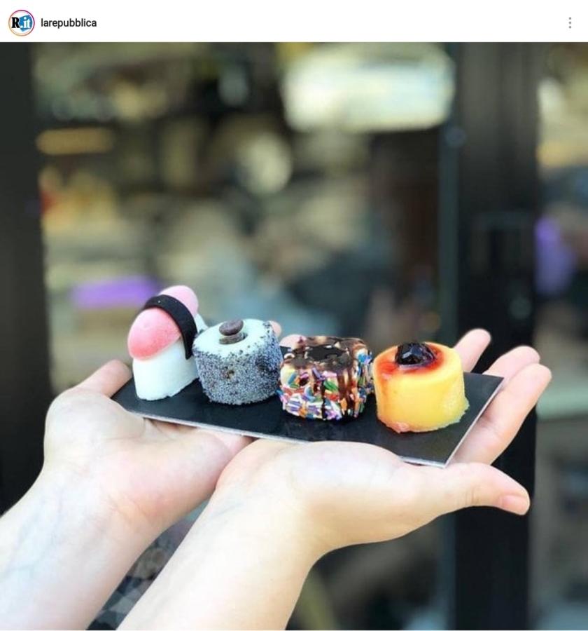Dal sushi-gelato all'integrazione possibile