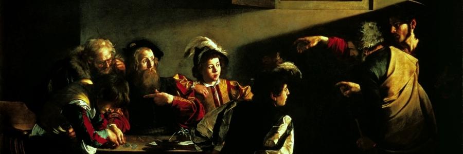 Vocazione di San Matteo. Caravaggio